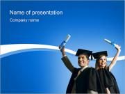 Graduated Students PowerPoint Templates
