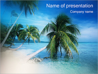 Palmy Szablony prezentacji PowerPoint
