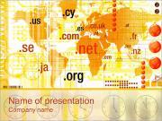 Доменных зон Шаблоны презентаций PowerPoint