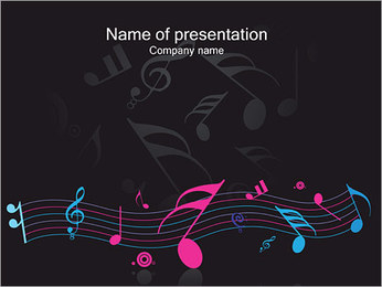 Notes PowerPoint Template