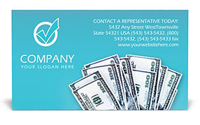Money Business Card Templates