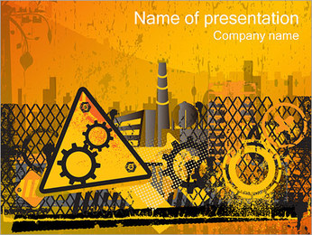 Usine Modèles des présentations  PowerPoint