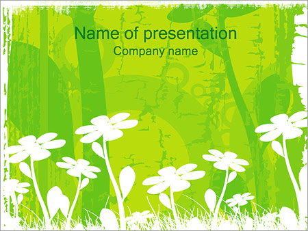 Flowers Powerpoint Template Backgrounds Google Slides Id