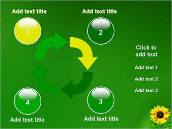 Sunflower PowerPoint Template - Slide 14
