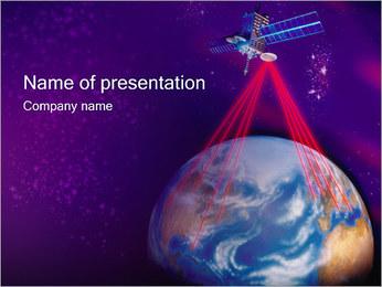 Satellite Modèles des présentations  PowerPoint