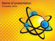 Atomo I pattern delle presentazioni del PowerPoint