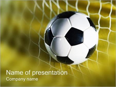european football powerpoint template & backgrounds id 0000000380, Modern powerpoint