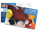 Sport Postcard Template