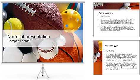 Sport PowerPoint Template Backgrounds ID 0000000381 – Sport Powerpoint Template