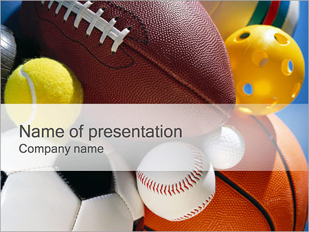 Sport Powerpoint Template & Backgrounds Id 0000000381