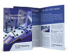 Domino Brochure Templates