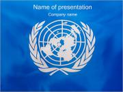 United Nations - UN-Flagge PowerPoint-Vorlagen