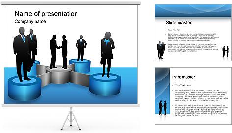 Negociaciones Plantillas de Presentaciones PowerPoint