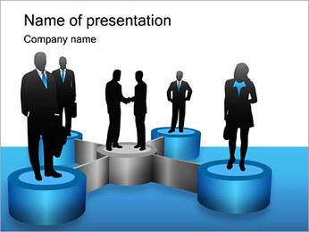 Negoziati I pattern delle presentazioni del PowerPoint