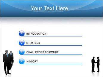 Negociaciones Plantillas de Presentaciones PowerPoint - Diapositiva 3