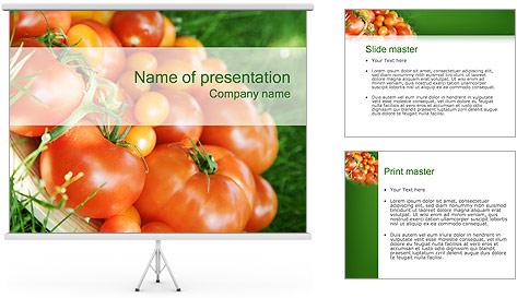 Tomate Modèles des présentations  PowerPoint
