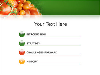 Tomate Modèles des présentations  PowerPoint - Diapositives 3