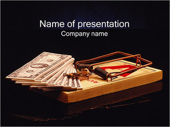 Monetary Fraud PowerPoint Template