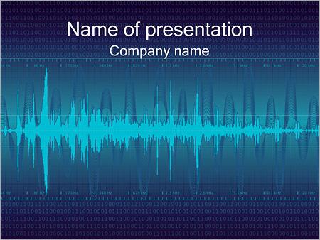 Digital Sound Modèles des présentations  PowerPoint