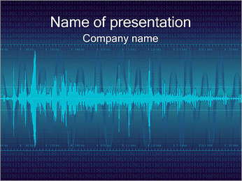 Digital Sound Plantillas de Presentaciones PowerPoint