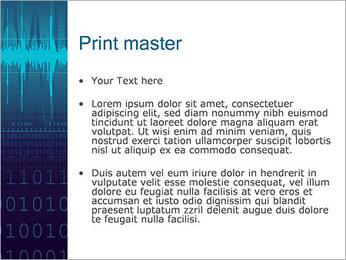 Digital Sound Modèles des présentations  PowerPoint - Diapositives 24