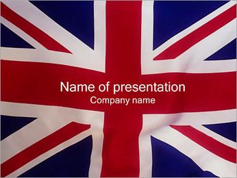 Regno Unito Bandiera I pattern delle presentazioni del PowerPoint