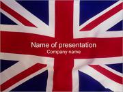 Wielka Brytania Flaga Szablony prezentacji PowerPoint
