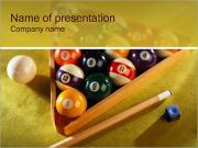 Game of Billiard PowerPoint Templates