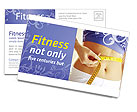 Weight Loss Postcard Template