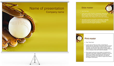 Baseball PowerPoint Template Backgrounds ID 0000000405 – Baseball Powerpoint Template