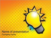Электрический свет Шаблоны презентаций PowerPoint