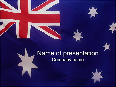 Australian flag powerpoint template backgrounds google slides australian flag powerpoint template toneelgroepblik Gallery