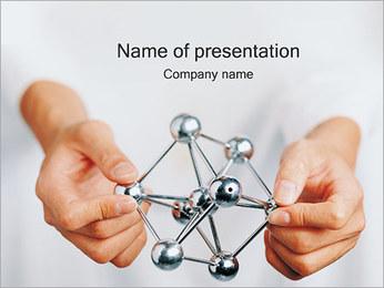 Molecule Model PowerPoint Template
