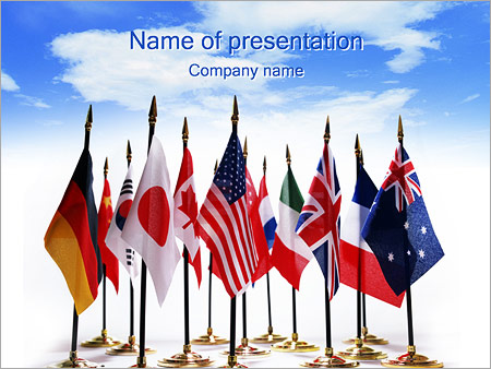 Flags powerpoint template backgrounds id 0000000413 flags powerpoint template toneelgroepblik Images