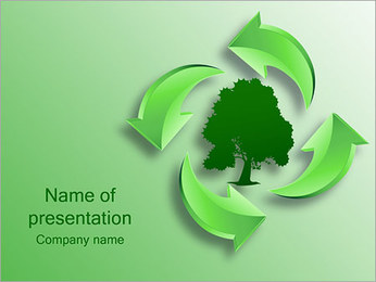 Tree PowerPoint Templates - Slide 1