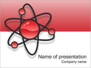 Atom Model PowerPoint Template