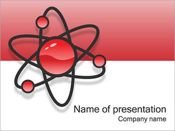 Atom Modèle Modèles des présentations  PowerPoint - Diapositives 1