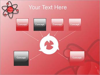 Atom Modèle Modèles des présentations  PowerPoint - Diapositives 10