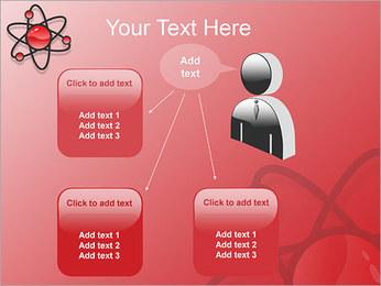 Atom Modèle Modèles des présentations  PowerPoint - Diapositives 12