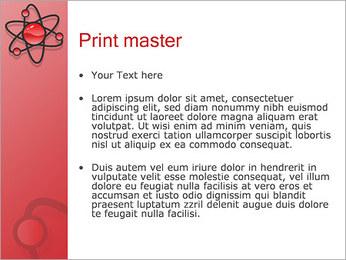 Atom Modèle Modèles des présentations  PowerPoint - Diapositives 24