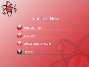 Atom Modèle Modèles des présentations  PowerPoint - Diapositives 3