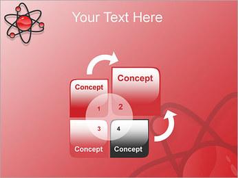 Atom Modèle Modèles des présentations  PowerPoint - Diapositives 5