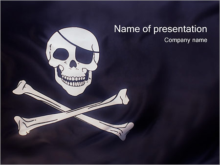 Pirates flag powerpoint template backgrounds id 0000000426 pirates flag powerpoint templates toneelgroepblik Choice Image