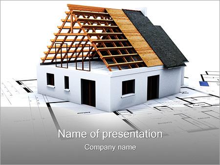 House building planning powerpoint template backgrounds id house building planning powerpoint template toneelgroepblik Gallery