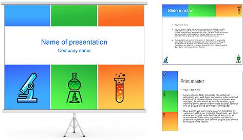 Chimie Modèles des présentations  PowerPoint