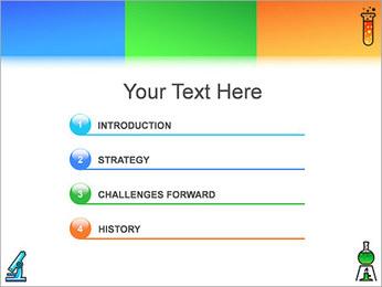Chimie Modèles des présentations  PowerPoint - Diapositives 3