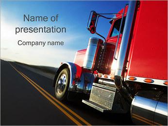 Logistics PowerPoint Template - Slide 1