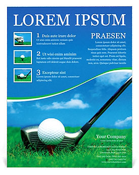 golf flyer background tier brianhenry co