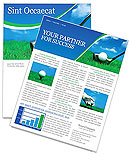 Golf Newsletter Template