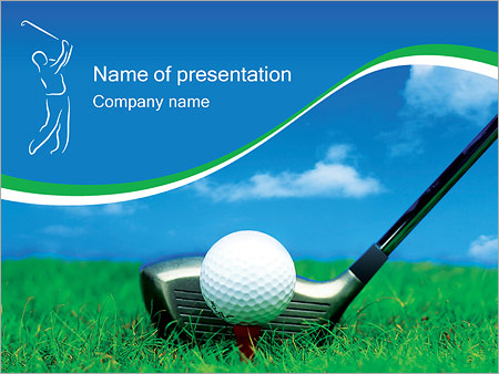 Golf powerpoint template backgrounds id 0000000440 golf powerpoint template toneelgroepblik Choice Image